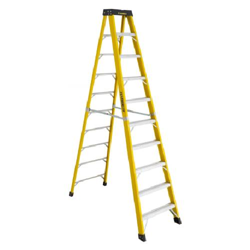 10' STEP LADDER FIBERGLASS