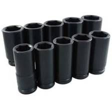 "3/4"" IMPACT SOCKET SET DEEP"