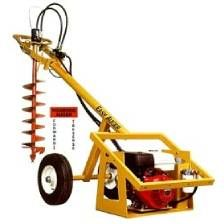 POST HOLE AUGER GAS HYDRAULIC