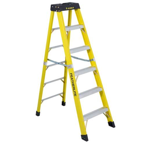 6' STEP LADDER FIBERGLASS