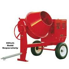 CEMENT MIXER 9 CU FT GAS