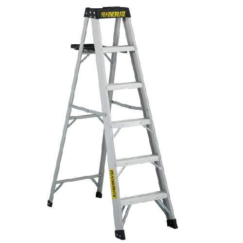 6' STEP LADDER ALUMINIUM